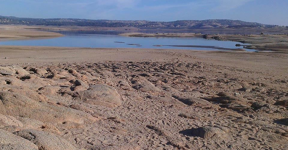 folsom-lake-drought-Jan2014